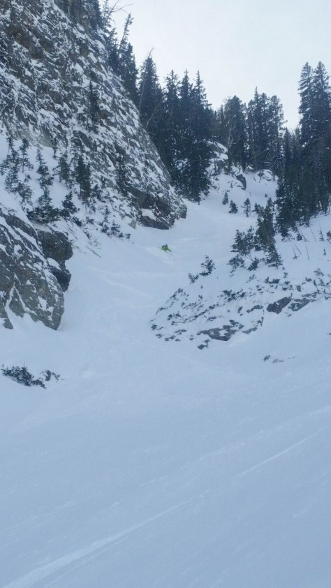 More couloir powder turns please.