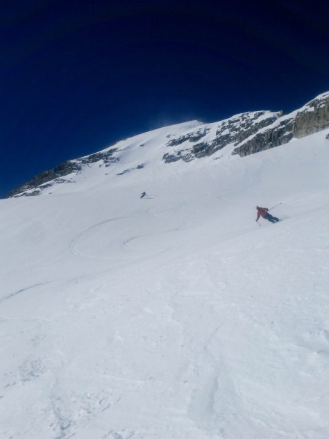 Powder 8's on the East Face.