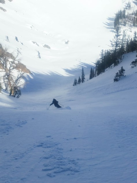 A few powder turns were had.