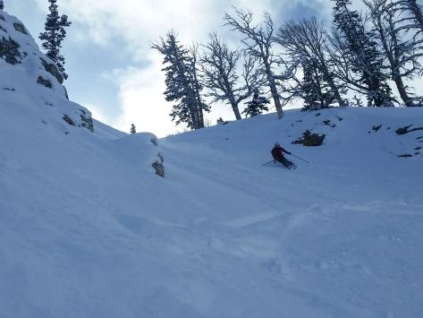 Pretty setting for a ski.