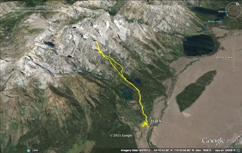 Google Earth Sliver - Nez Perce