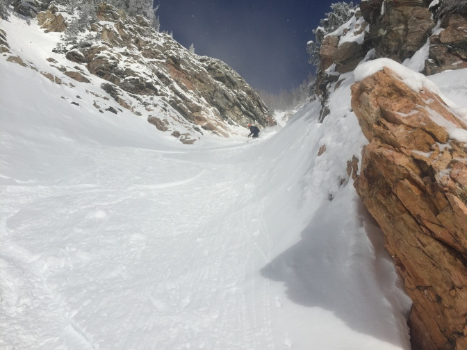 Four Hour Couloir – Shadow Peak